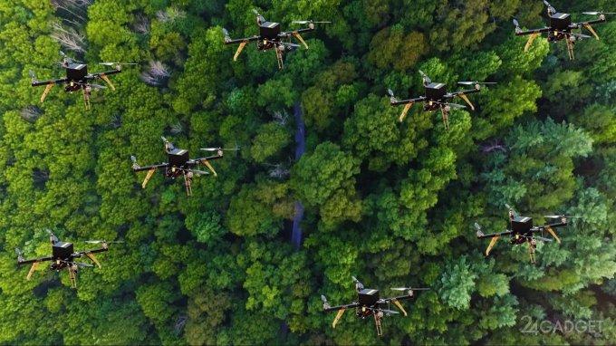 БПЛА станут лучшими спасателями для потерявшихся в лесу