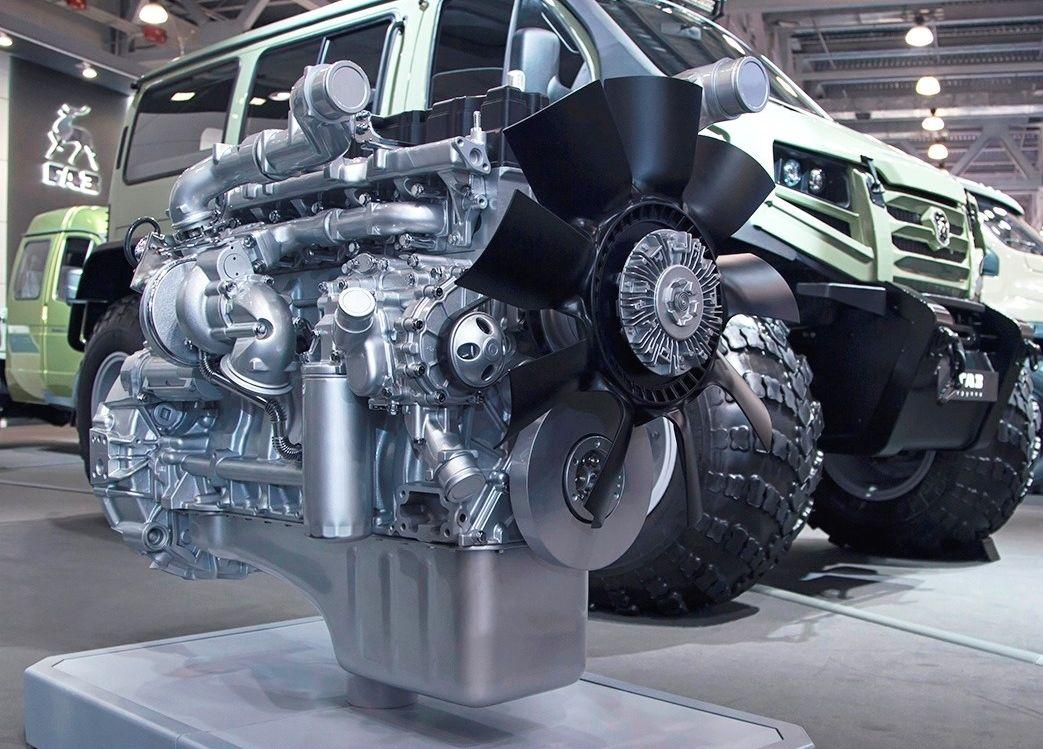ГАЗ создал новый дизельный мотор-миллионник