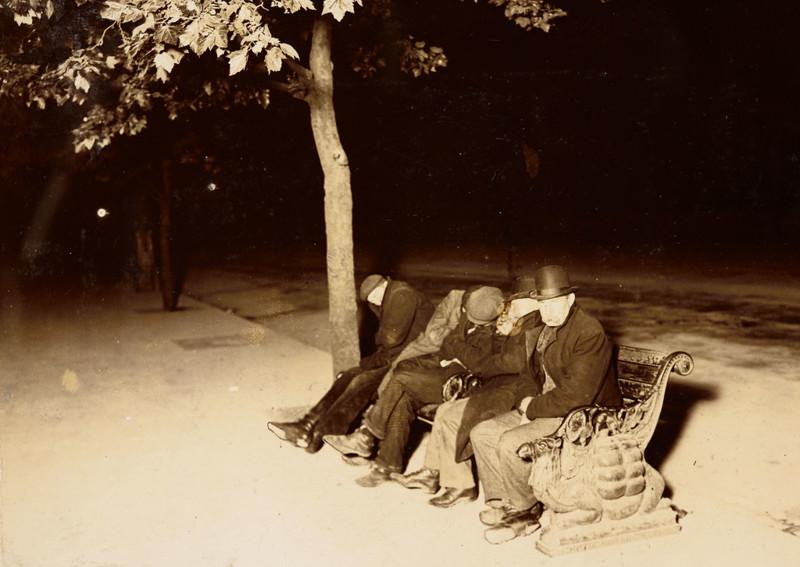 Лондон, 1902. Бездомные спят на набережной Темзы джек лондон, история, фото