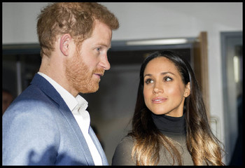 Принц Гарри и Меган Маркл отправили гостям приглашения с золотом