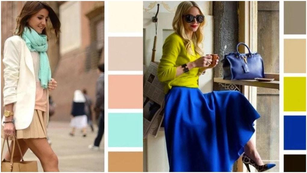 Идеальные цветовые комбинации, чтобы получить максимум от вашего гардероба