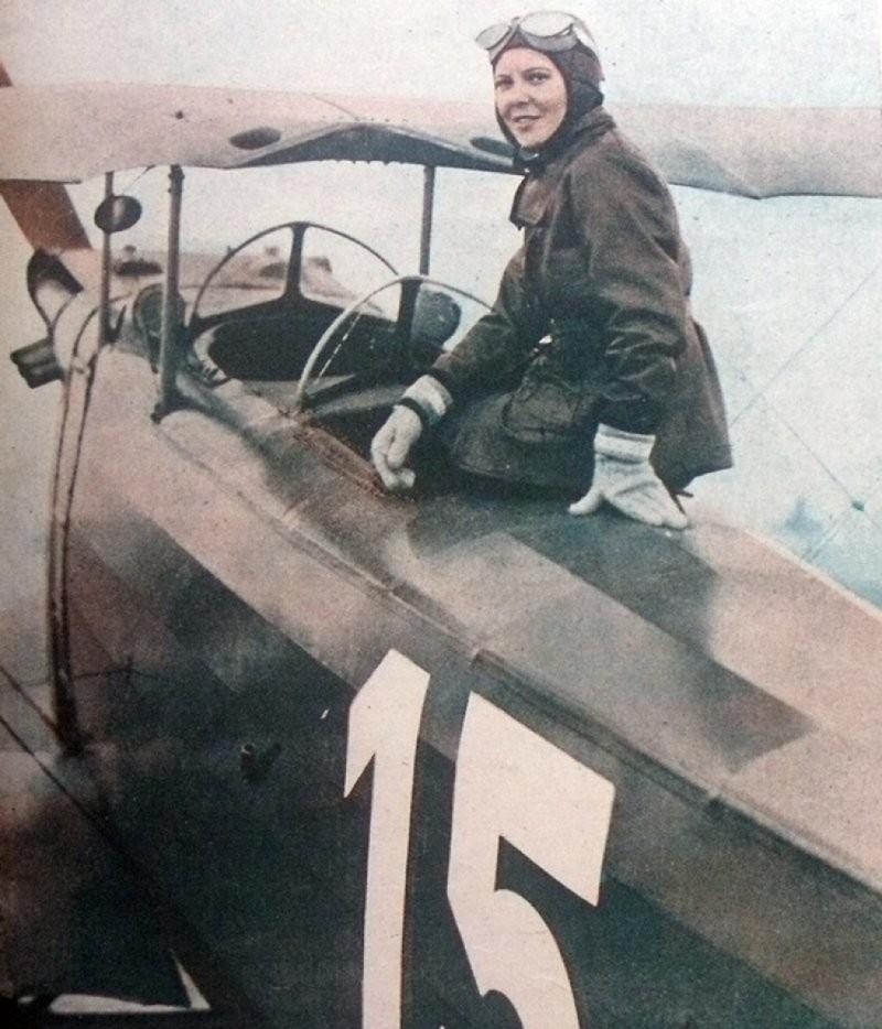 Сабихи Гёкчен – первая турчанка, ставшая военным пилотом-истребителем. 1937 год. история, картинки, фото