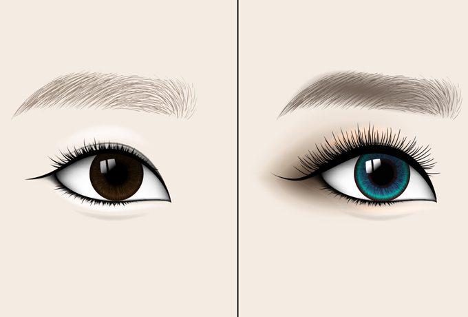 Что цвет глаз может рассказа…