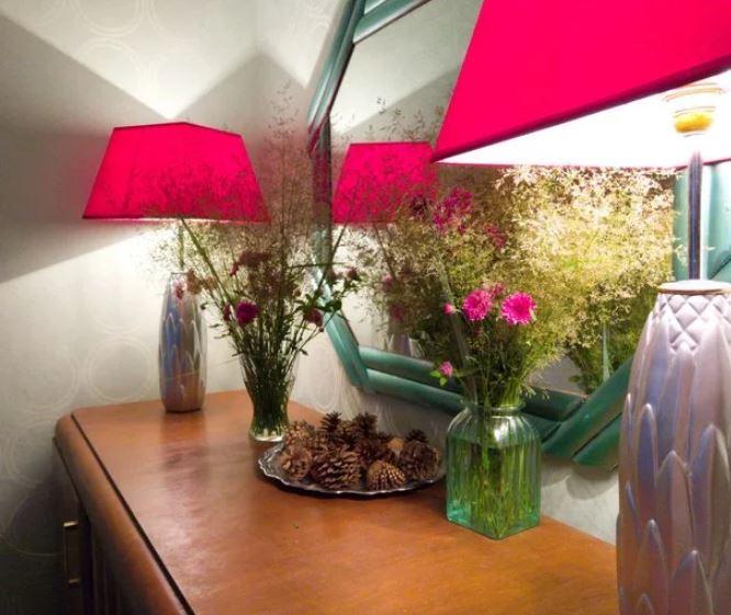 Купила вазы на распродаже и сделала подставки для настольных ламп для дома и дачи,интерьер,поделки,ручная работа