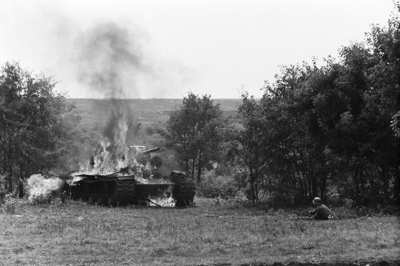 Подвиг экипажа танка КВ лейтенанта А.Ф. Наумова