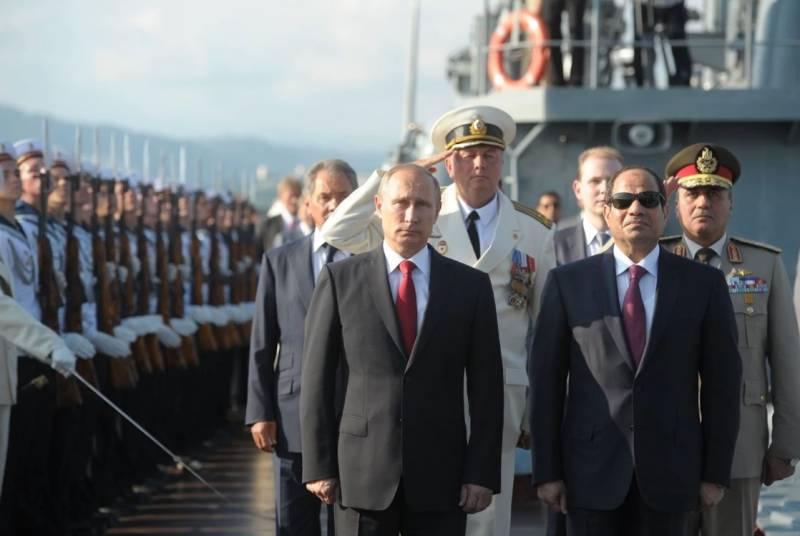 Как Ближний Восток «ухаживает» за Путиным: новое место РФ в регионе