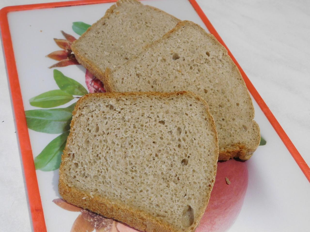 Выпечка ржано-пшеничного домашнего хлеба