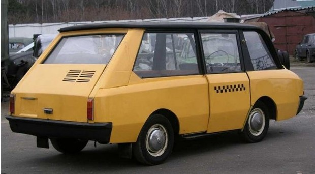 Гениальное советское такси, которое не оценили автомобили,водители,пешеходы,тюнинг