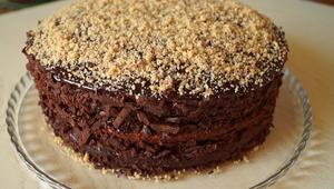 Шоколадно-ореховый торт | Не…