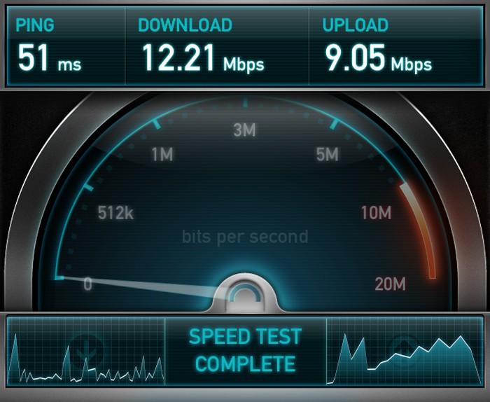 Проверьте скорость интернета на специальном сайте.