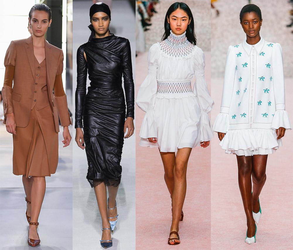 Модные тенденции и стили весна-лето 2019 года