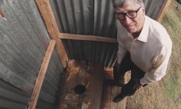 Билл Гейтс представил новый туалет без канализации и воды