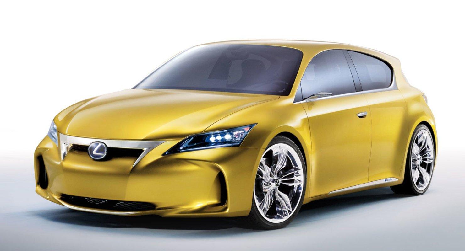 Lexus LF-Ch — какой должен быть авто будущего Автомобили