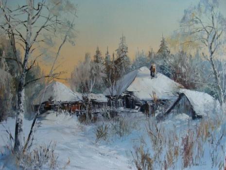 художник Александр Леднёв картины – 04