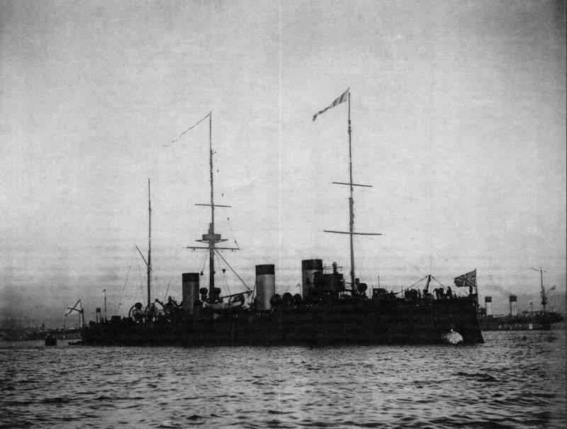 Цусима. Действия бронепалубных крейсеров «Жемчуг» и «Изумруд» в ночь на 15 мая