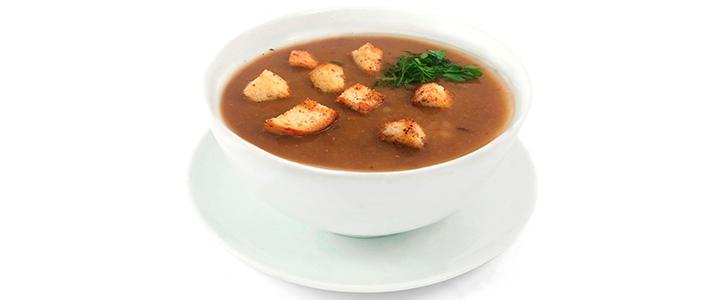 Чечевичный суп с мясом