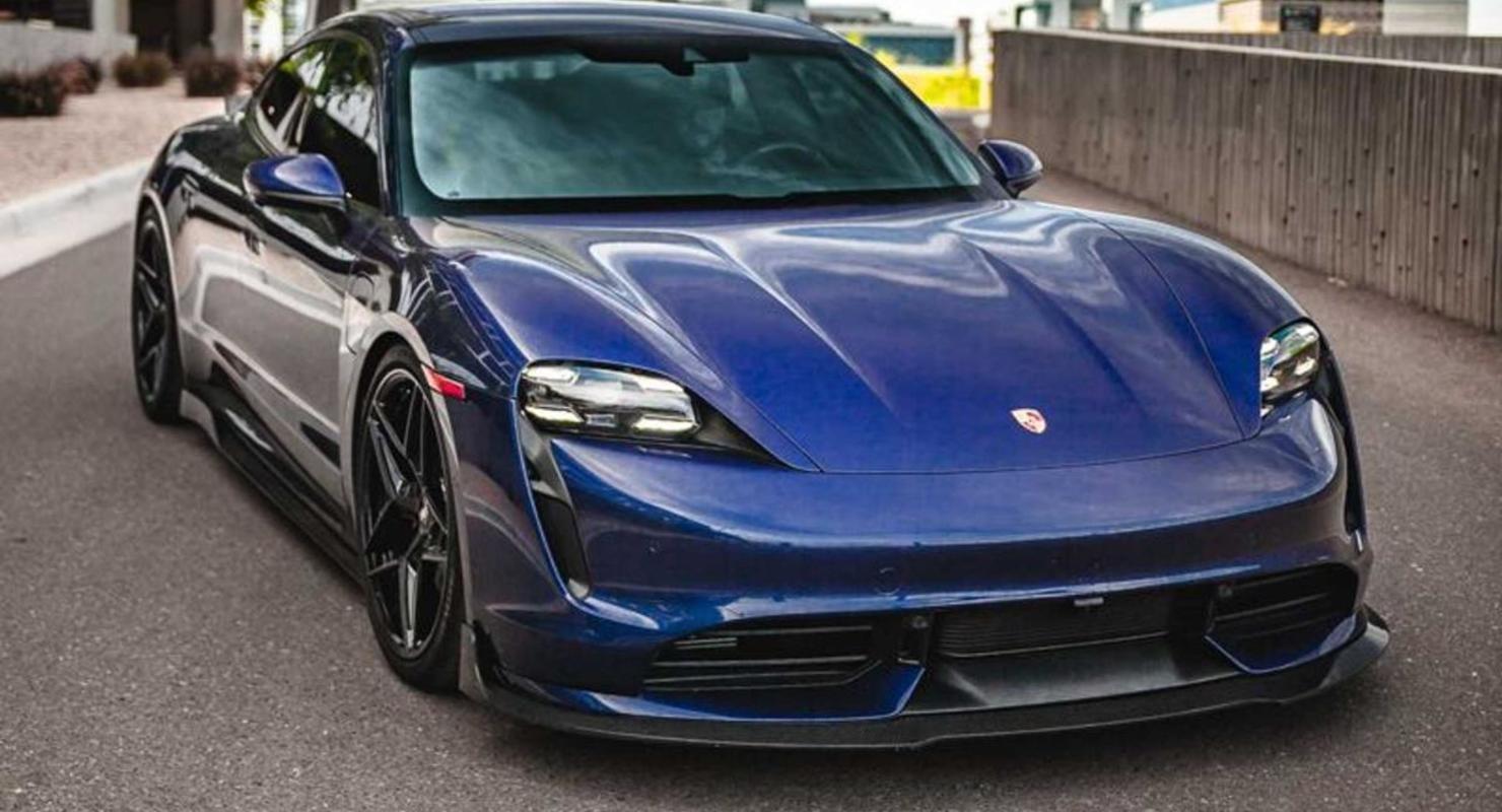 Представлена версия электрокара Porsche Taycan от ателье Vivid Racing Автомобили
