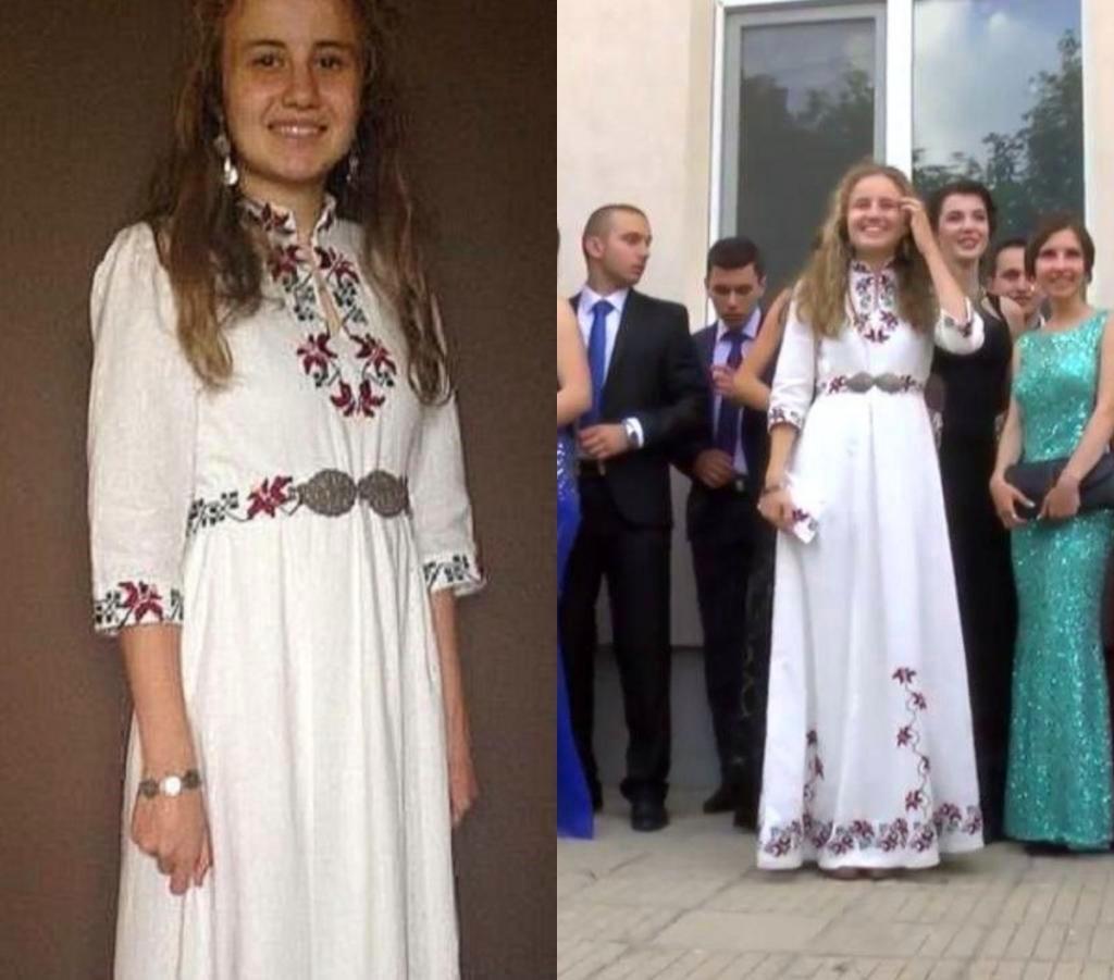 Девушка потратила 2 месяца на создание выпускного платья: результат того стоил