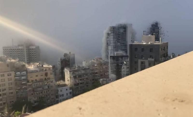 Опубликована драматическая раскадровка взрыва в порту Бейрута Новости