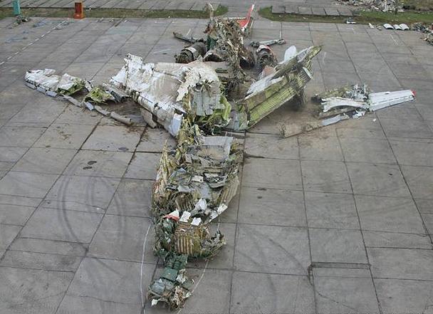 Самолет Качиньского «разбился» еще в Варшаве