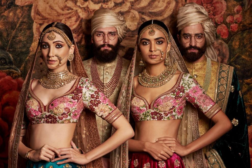 Традиционная одежда Индии в фэшн-фотографии Тарана Кхивала