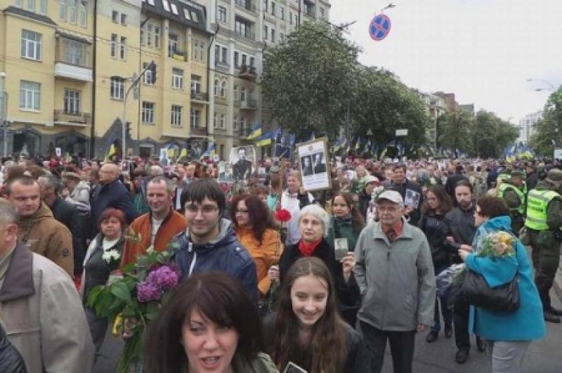 9 мая украинцы доказали: Нам ближе праздник Победы, чем День терпил