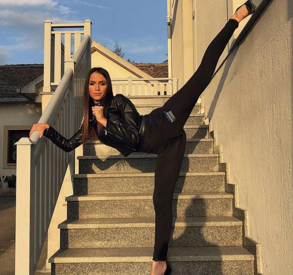 Каратистка из Сербии сначала стала звездой телевидения, а теперь решила покорить Голливуд Культура