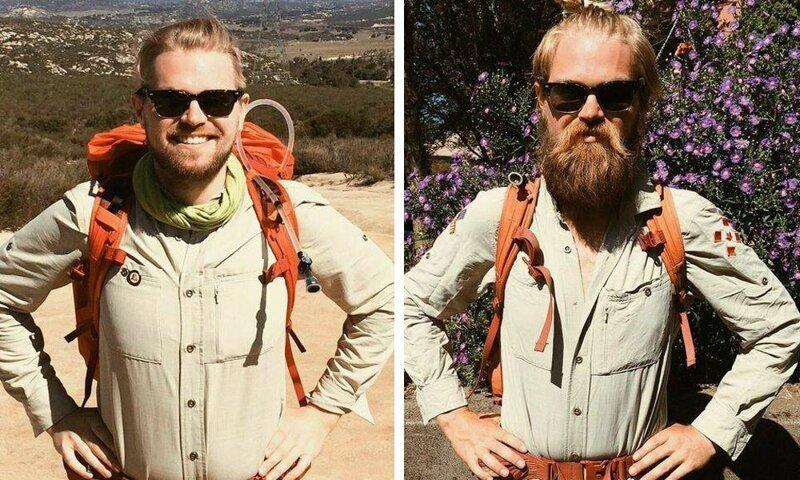 7. «Мой друг прошёл пешком от Канады до Мексики» было стало, в мире, люди, подборка, сравнение, фото