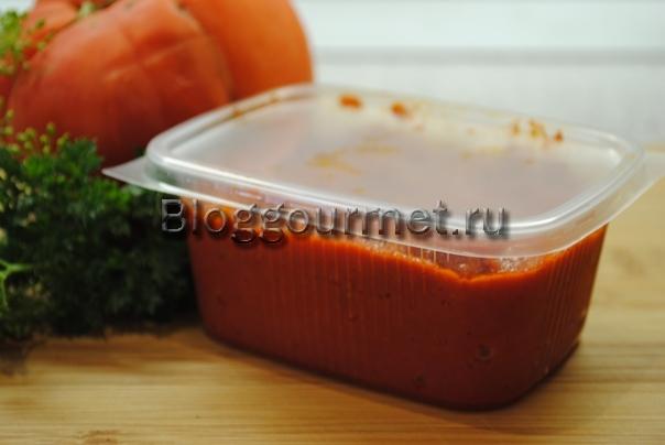 Рецепт томатной пасты