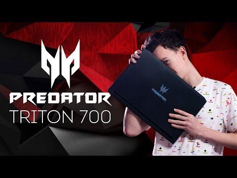 Топовый ИГРОВОЙ НОУТБУК Acer Predator Triton 700: ОБЗОР+ТЕСТ