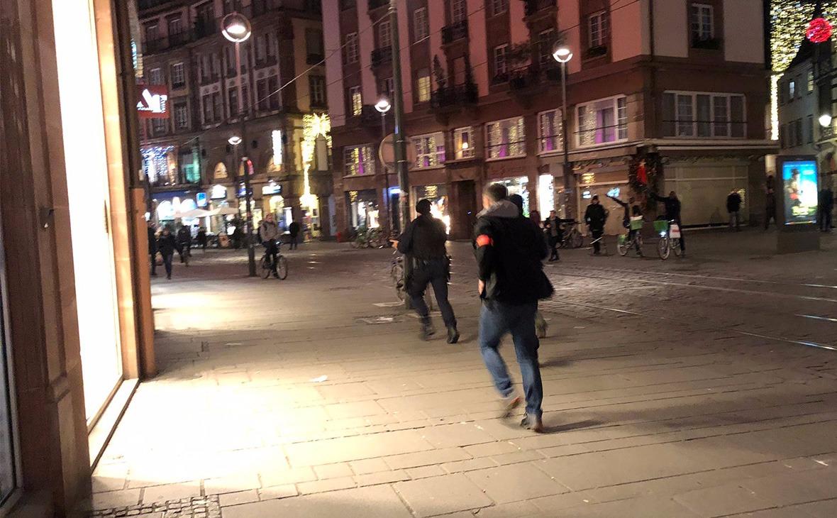 В Страсбурге произошла стрельба на рождественской ярмарке