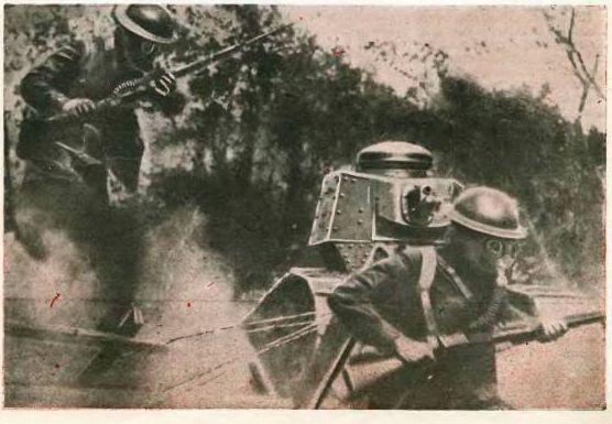 Описание будущей войны в «Технике-Молодёжи», 1935 г. СССР