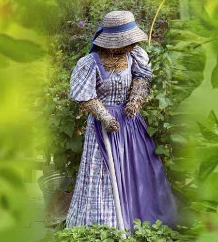 Садовые фигурки — добрые духи нашего сада