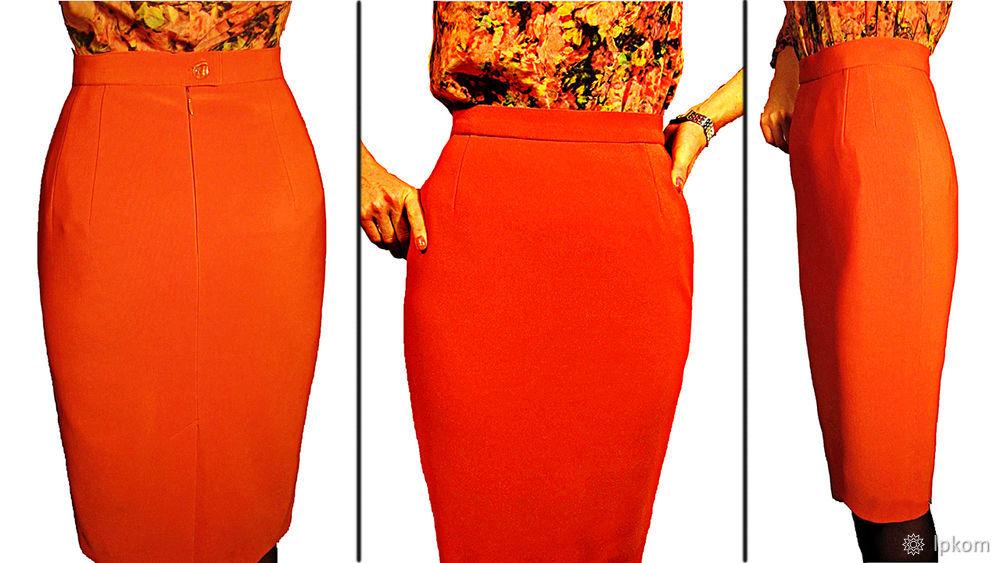 Как построить идеальную выкройку прямой юбки