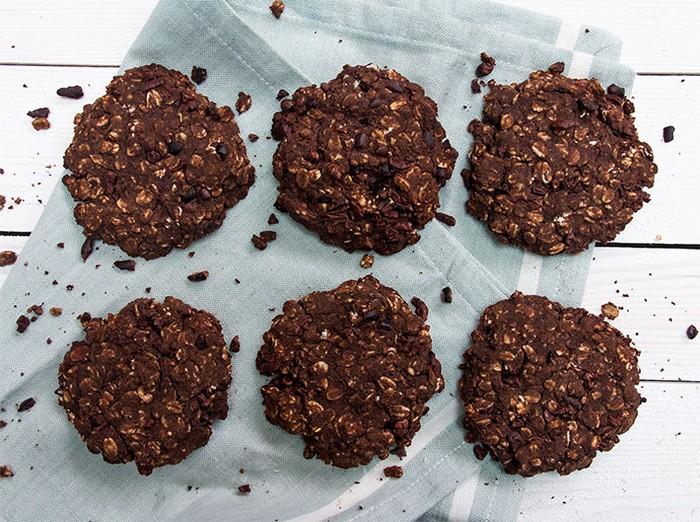Вкуснейшее овсяное печенье за 5 минут.