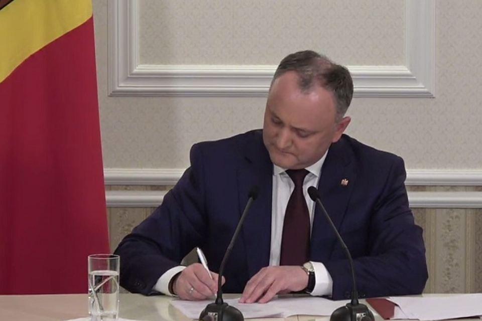 Бомба от президента Молдовы: Игорь Додон инициирует всенародный референдум по четырем вопросам