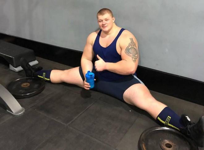 Монстр массы из Украины: набрал веса и мускулов в 170 кг уже в 21 год