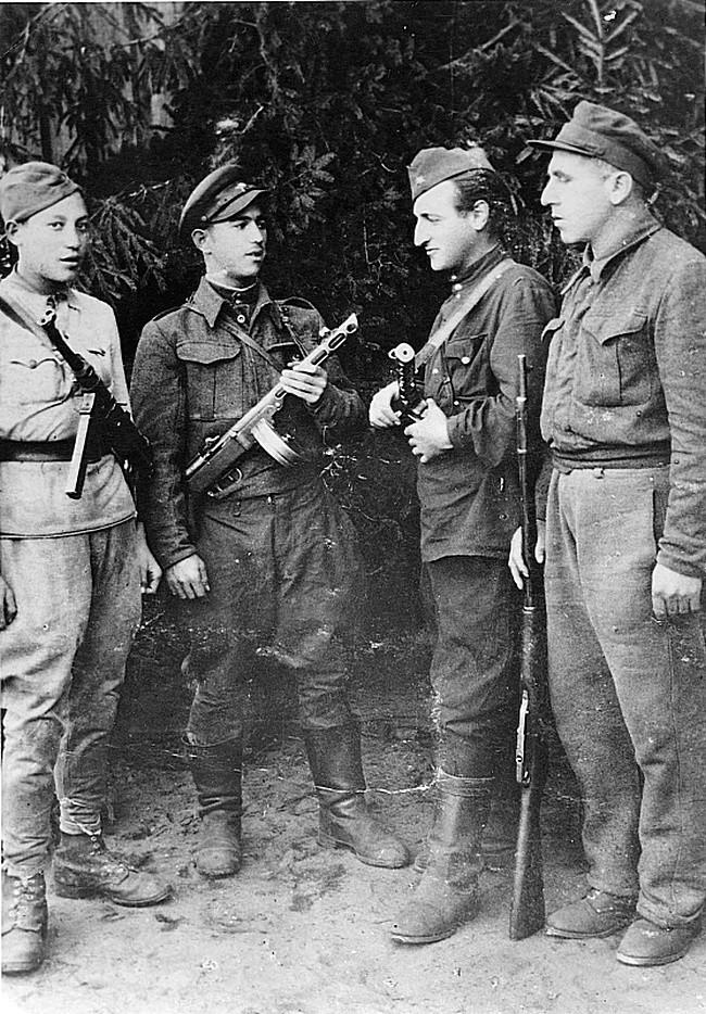 Советские партизаны Великой Отечественной войны