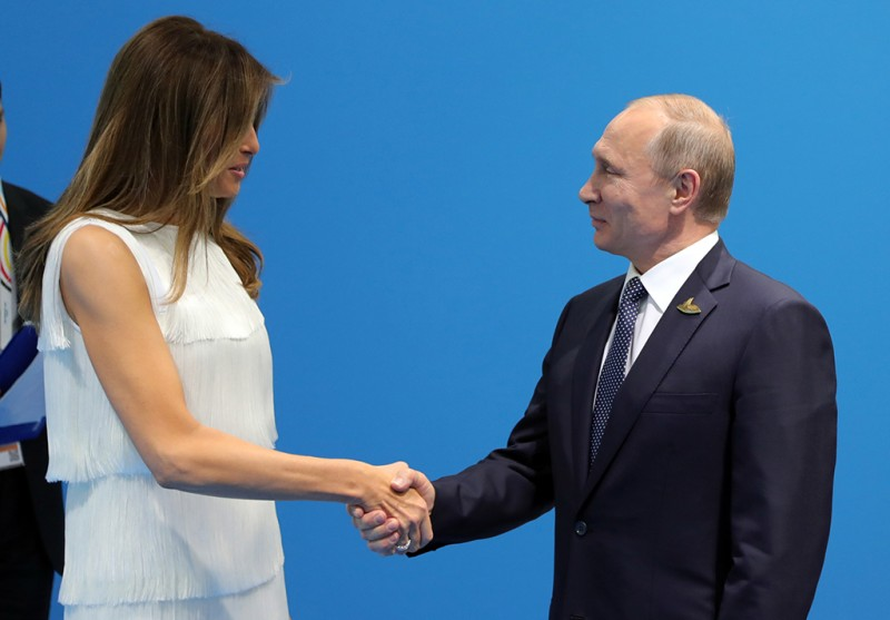 Путин рассказал Мелании Трамп о рыбалке в Сибири