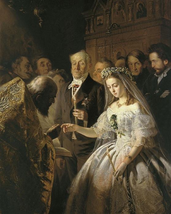 Как так случилось, что Илья Репин «приодел» светскую даму в одежду монахини