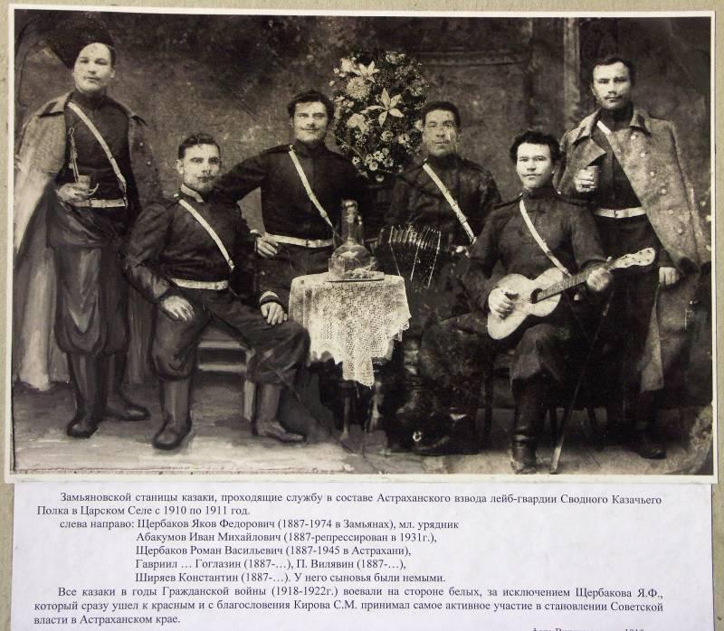 Астраханское казачество на фронтах Первой мировой. Часть 7