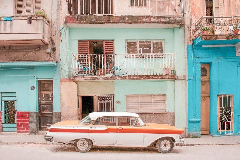 Улицы Гаваны, которые будто вышли из фильмов Уэса Андерсона авиатур