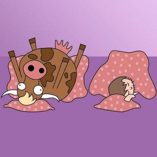 Шутки про беременных картинки