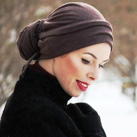 Тренды холодного сезона — шапка-чалма опять актуальна!
