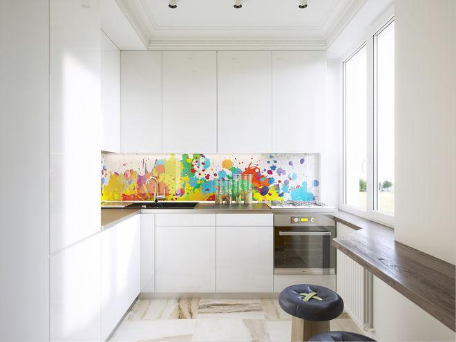 Современный Кухня Проект квартиры