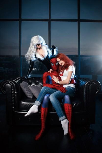Женщины Человека-паука. Косплей — специальный выпуск Игры,косплей