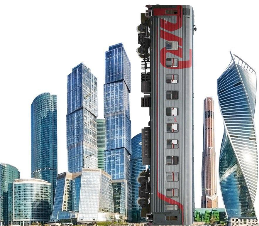 В Москве построят офис «РЖД-сити» за 72 миллиарда рублей. Его площадь будет больше, чем у двух башен «Федерация» в «Москва-сити»