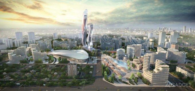 Начаты работы по созданию умного города Эйкон-Сити, с собственной криптовалютой будущее,гаджеты,криптовалюта,наука,техника,технологии,электроника
