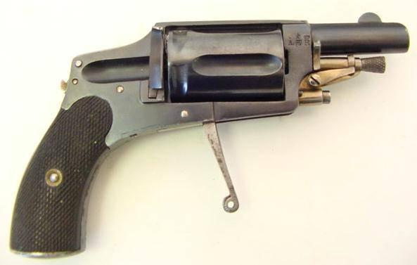 Забытые за давностью лет… Револьверы Франкотта оружие