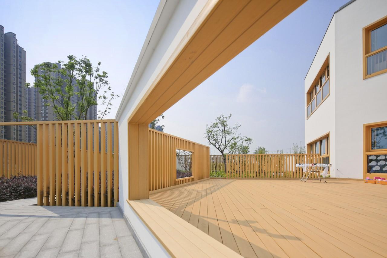 Билингвальный детский сад при университете в Китае